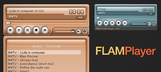 Handcut Designs - Free Music Players For Your Website